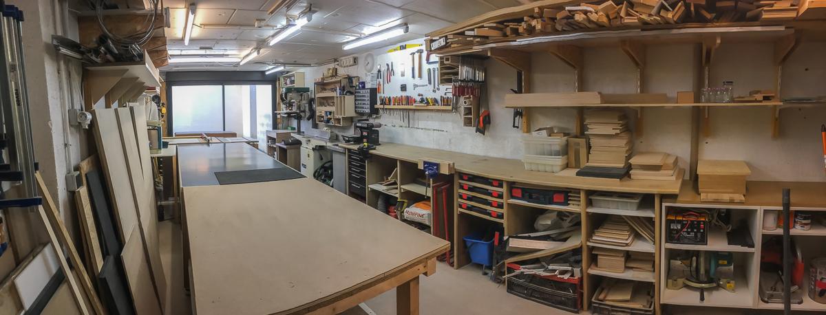 Atelier de fabrication de sténopés et chambres collodion en bois